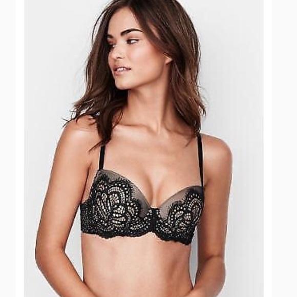 685623f879 Victoria s Secret Dream Angels Lined Demi Bra